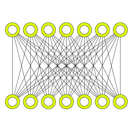 simple graph example Stock Vector - 7268750