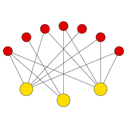 simple graph example Vector