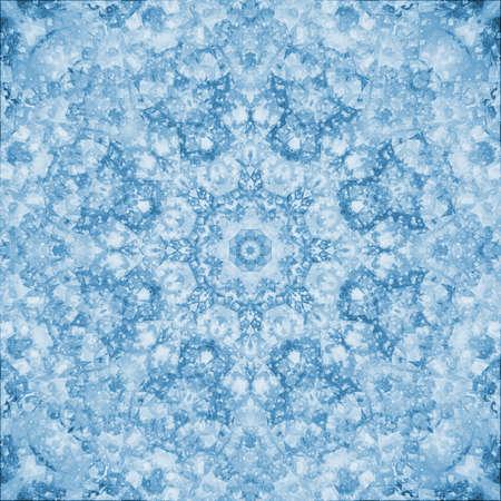 kaleidoscopic: winter decoration