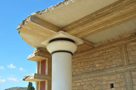 Knossos palace in Crete Stock fotó