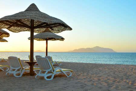 Beautiful Sunrise on the Red Sea  Egypt