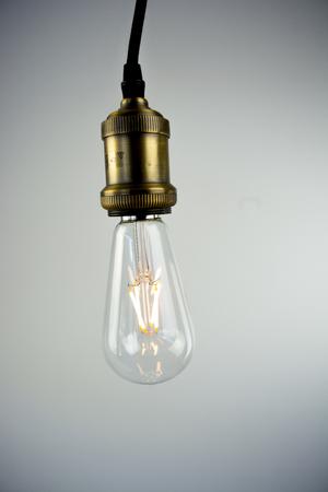 edison: Edison LED bulb Stock Photo