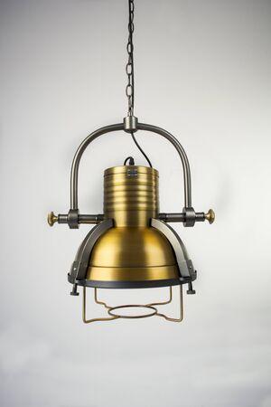 gunmetal: Iron gunmetal lamp