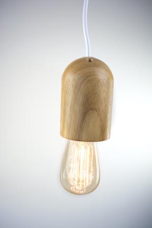 nordic: nordic minimalist lamp Stock Photo