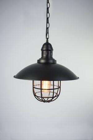 Lampa przemysłowa czarna