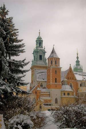 wawel: Winter Wawel