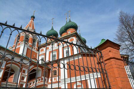 michael the archangel: Christian church of the Archangel Michael. Yaroslavl, Russia.