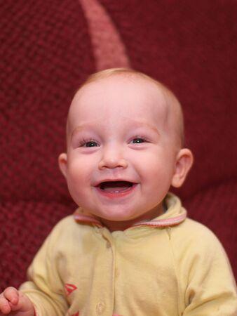 Smiling boy    photo