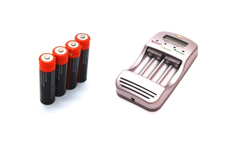 Charger and accumulators Stock Photo - 8979516
