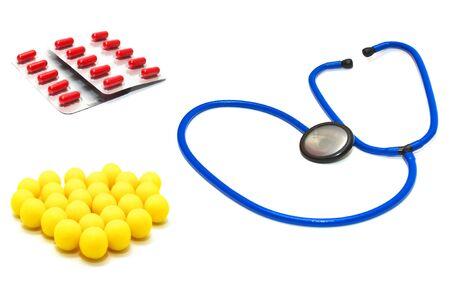helthcare: Medicine set