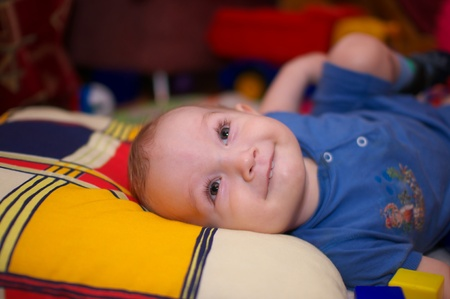 Little boy   Stock Photo - 9091080
