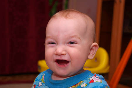 Smiling baby Stock Photo - 9219891