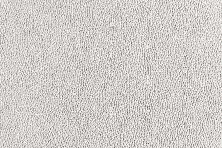 White textured leather. Flat surface. Background image, texture