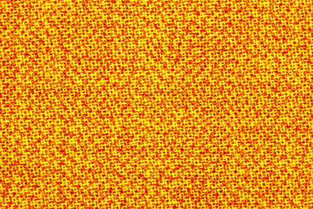 surface of the fabric is yellow and orange. Bright, colorful background, texture Stockfoto