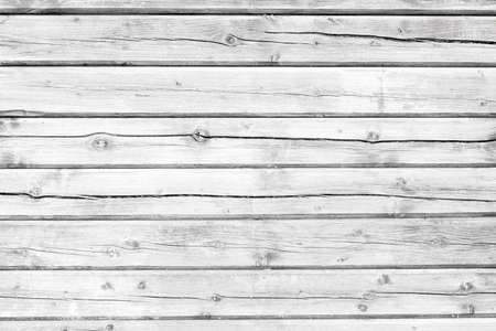 Old Board painted with white paint. White wood texture, background