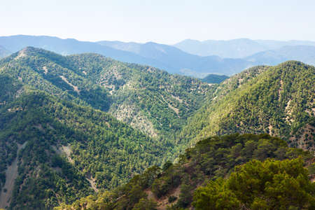 Troodos mountains located in the Western part of the island of Cyprus 写真素材