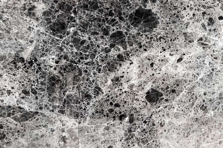 Surface of gray polished marble close-up. Background image, texture
