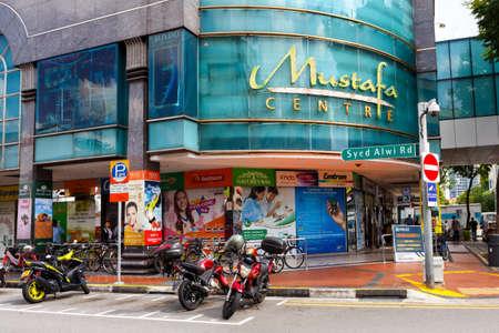 Singapore, Singapore-November 28, 2019: Mustafa Shopping Center, Little India Singapore