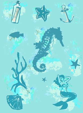 molluscs: the sea seahorse