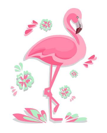 Flamingo Vector Illustration 일러스트