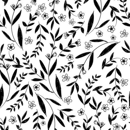 Flowers Pattern Seamless background ornament vector, floral pattern.