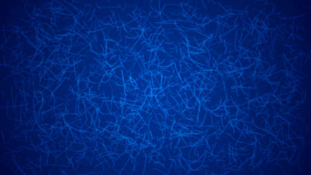 Abstract light background of curves or scratches in blue colors.