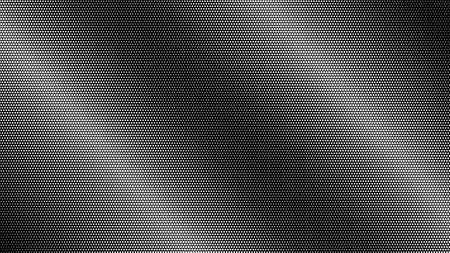 Abstarct halftone gradient background in black and white colors