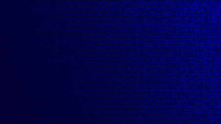 Abstarct halftone gradient background in randomly shades of blue colors