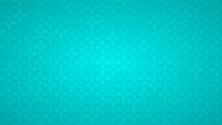 Abstract background of crosses in shades of light blue colors