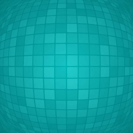Abstract background of small squares or pixels in light blue colors