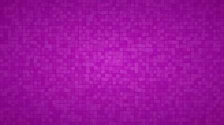 Abstract background of small squares or pixels in purple colors