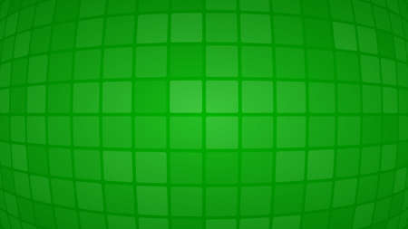 Abstract background of small squares or pixels in green colors Vettoriali