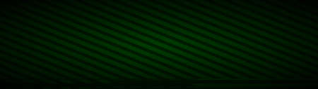 Abstract background of inclined stripes in dark green colors