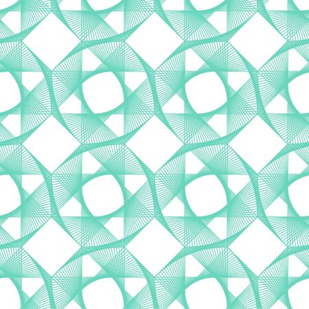 Neo mint,Aqua Menthe,emerald, turquoise geometric vector seamless pattern.Color 2020. Repeating square texture in neo mint colors for background, wallpaper, fashion, cover, wrapping, web design.