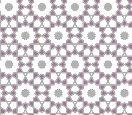 Arabesque vector seamless marakesh pattern, agra pattern, background. Arabic geometric tile and grid background pattern.