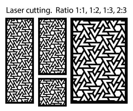 Cnc decorative pattern, jali design, interior element. Islamic , arabic laser cut kit bundle. Shade screen, privacy fence template. Laser cut vector panel, screen, fence, divider.