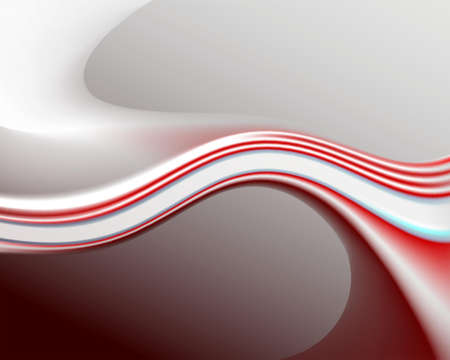 a red light curved background
