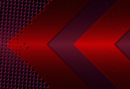 abstract dark red geometrical background Ilustrace