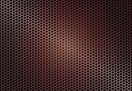 metal grille, mesh, abstract dark geometric background