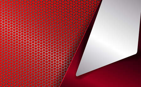red geometrical background Vector illustration.