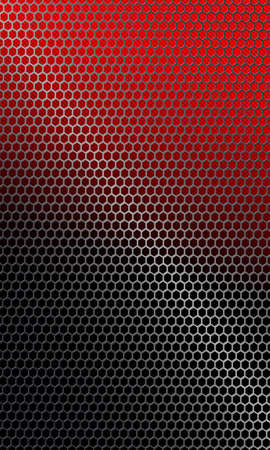 A Background with metal grille.