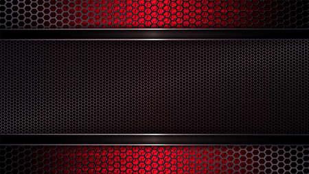 Geometric mesh background of a dark red hue.