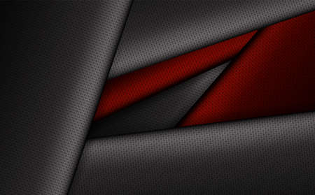 Geometric background with corrugated frames of gray and dark red hue. Фото со стока - 101629439