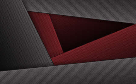 Geometric background with corrugated frames of gray and dark red hue. Иллюстрация