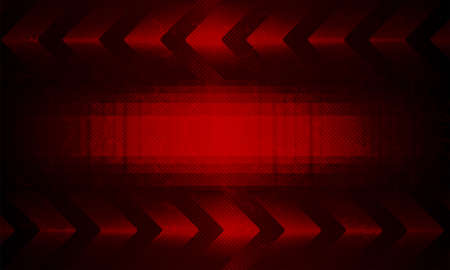 Dark red textural background with silhouette of abstract frame and set of arrows.