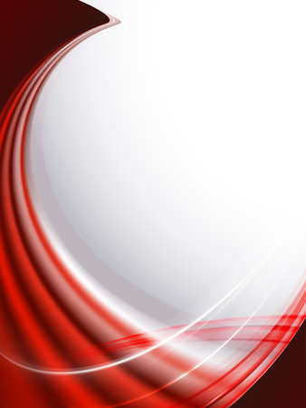 Light abstract red design with flowing lines, like fabric. Фото со стока - 111992475