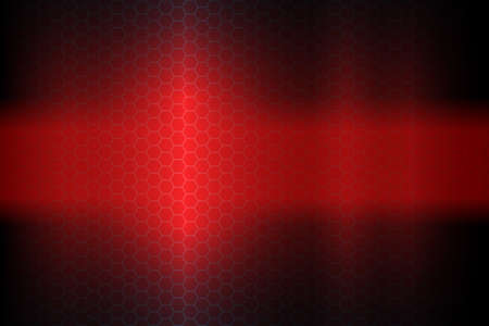 Red dark abstract geometric background with lattice silhouette.