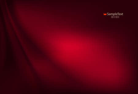Smooth dark red background with smooth gentle stripes.