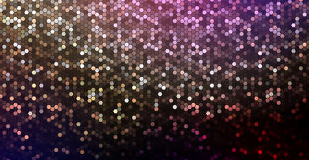 Multicolored dark background with a light mosaic of polygons Фото со стока - 138869034