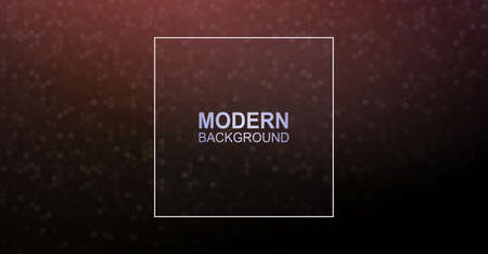 Gorgeous dark brown background with a light mosaic of polygons